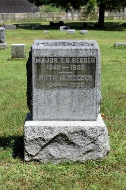 Maj Thomas Reeder