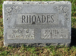 Hattie L <i>Phend</i> Rhoades