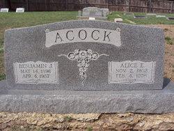 Benjamin Joe Ben Acock