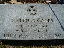 Lloyd E Cates
