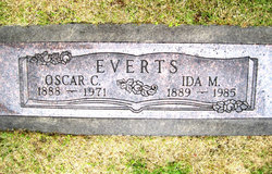 Ida May <i>Zobrist</i> Everts