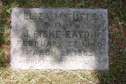 Eliza M <i>Tufts</i> Eaton