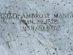 Mildred Asilee <i>Ambrose</i> Mangum