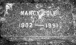 Dr Nancy Cole