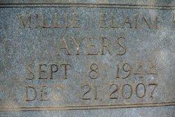 Millie Elaine Elaine <i>Towe</i> Ayers