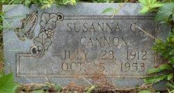 Susanna G. Cannon