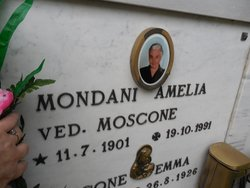 Amelia <i>Moscone</i> Mondani