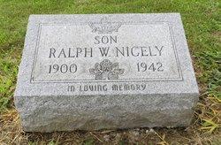 Ralph W Nicely