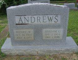 Miriam G. Andrews