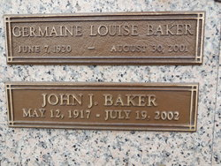 Germaine Louise <i>Church</i> Baker
