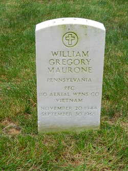PFC William Gregory Maurone