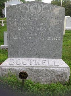 Rev Oscar M. Boutwell