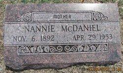 Nannie McDaniel