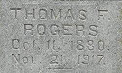 Thomas F Rogers