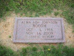Alma Ada <i>Johnson</i> Booth