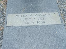 Wilda Mae <i>Handley</i> Mangum