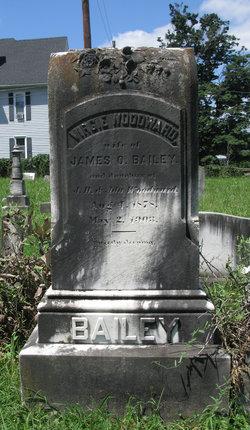 Virginia E. Virgie <i>Woodward</i> Bailey