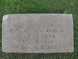 Ollie Esther <i>Ross</i> Bowlin