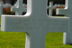 Capt Carl F Ekstrom