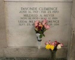 DeVonde Clemence