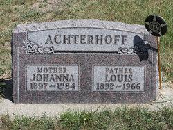 Johanna W. <i>Kraayenbrink</i> Achterhoff