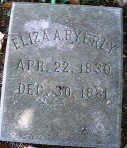 Eliza A. <i>Masten</i> Byerly