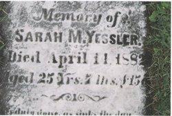 Sarah M. Yessler