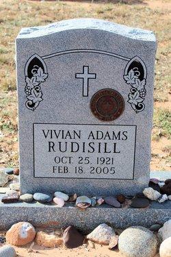 Vivian <i>Adams</i> Rudisill