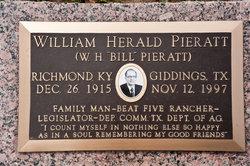 William Herald Bill Pieratt, Sr