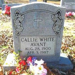 Callie <i>White</i> Avant