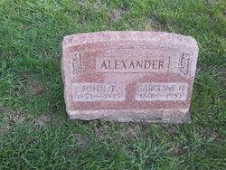 Caroline H. <i>Cole</i> Alexander
