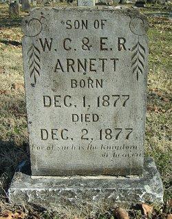 Infant son Arnett
