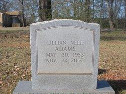 Lillian Nell Adams