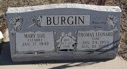Mary Lou <i>Starr</i> Burgin