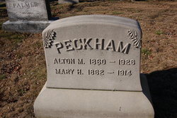 Mary H <i>Preston</i> Peckham