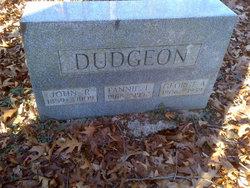 John R Dudgeon