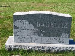 Eleanor A. <i>Sheffer</i> Baublitz