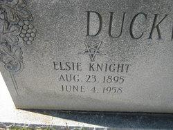 Elsie <i>Knight</i> Duckworth