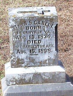 Maj Algernon Sydney Cabell