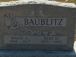Mazie A <i>Yohe</i> Baublitz