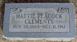 Hattie <i>Peacock</i> Clements
