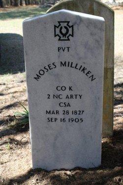 Pvt Moses Milliken