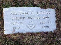 REV. Isaac Evan Thomas
