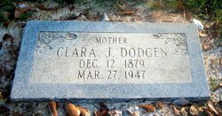Clara Jane <i>Jefferies</i> Dodgen