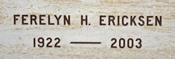 Ferelyn H Ericksen