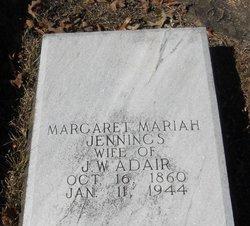 Margaret Mariah <i>Jennings</i> Adair