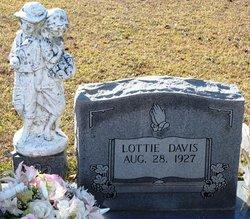 Lottie Mae <i>Baker</i> Davis