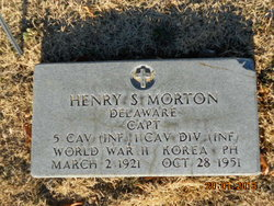 Capt Henry S Morton