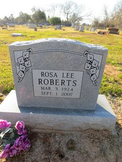 Rosa Lee <i>Grovey</i> Roberts