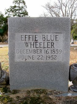 Effie <i>Blue</i> Wheeler